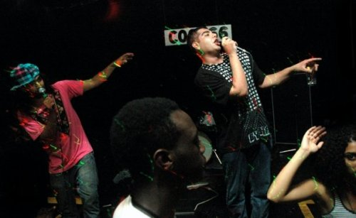 Das Racist @ Coco66 (photo by Katy Porter)