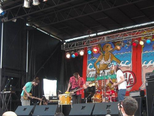 Bear Hands @ Siren Music Festival 2009 (7/18/09)